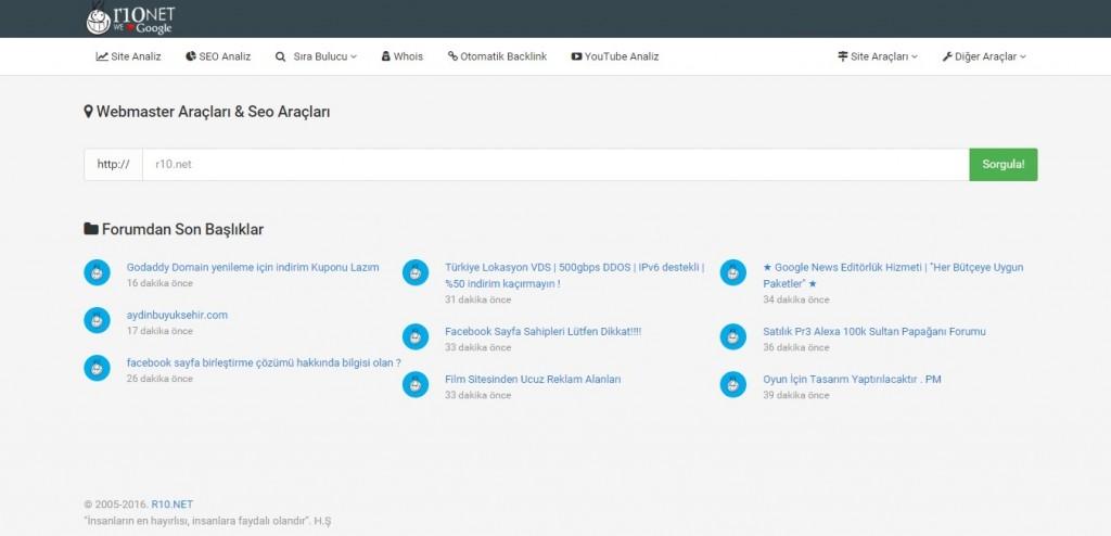 r10 net site analiz seo analiz kadir blog seo hizmeti seo ajansları