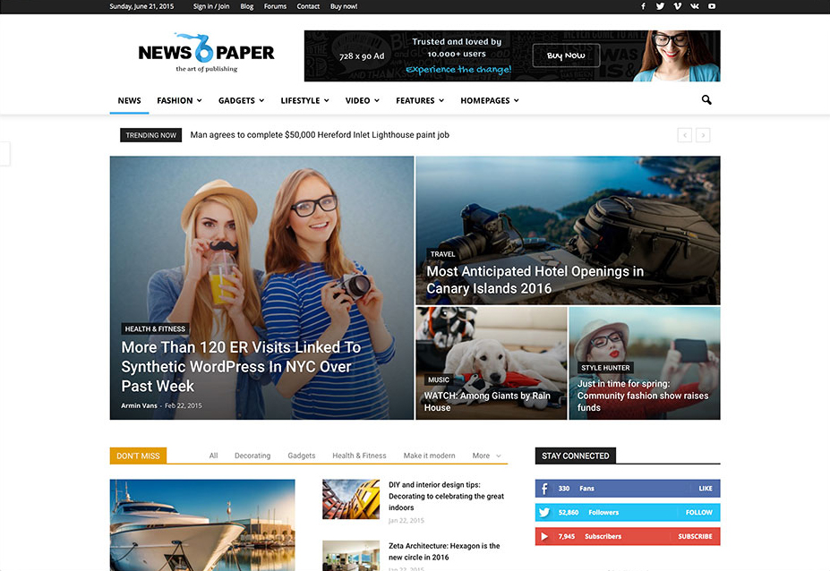 newspaper-clean-magazine-theme-wordpress-indir-kadir-blog