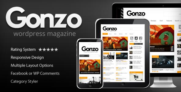 gonzo magazin teması kadir blog webmaster