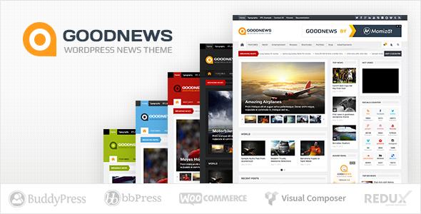 good news responsive theme haber magazin teması kadir blog webmaster