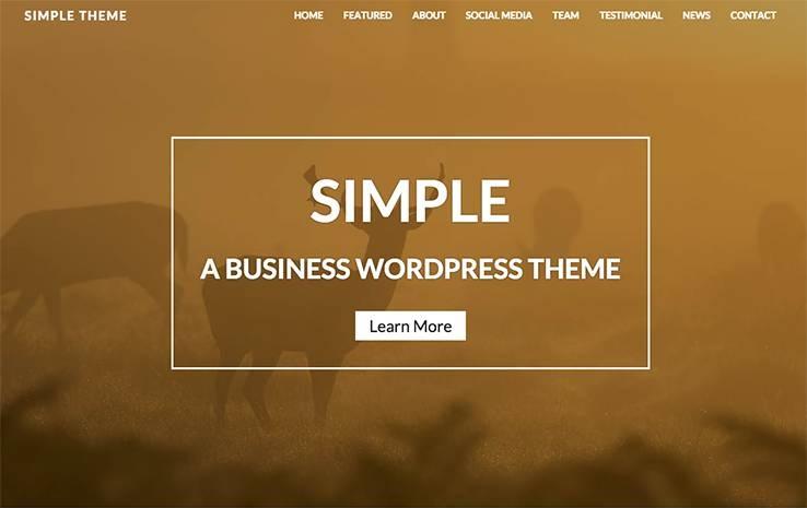 simple free theme tema indir ücretsiz parallax kadir blog kişisel blog webmaster