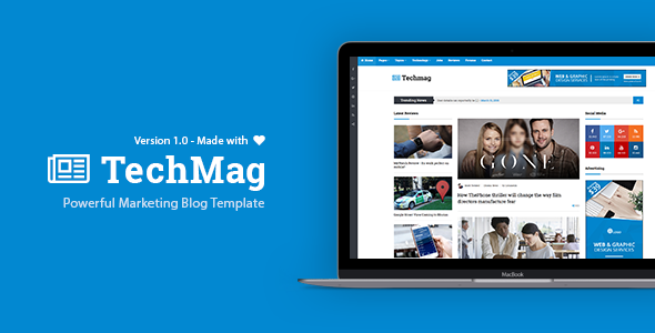 TechMag - Multipurpose WordPress News and Magazine Theme kadir blog kişisel
